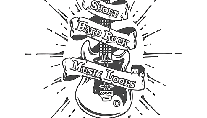 Short Hard Rock Music Loops