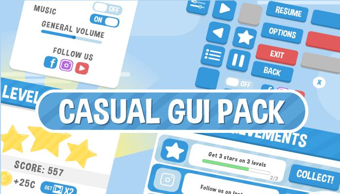 Casual GUI Pack