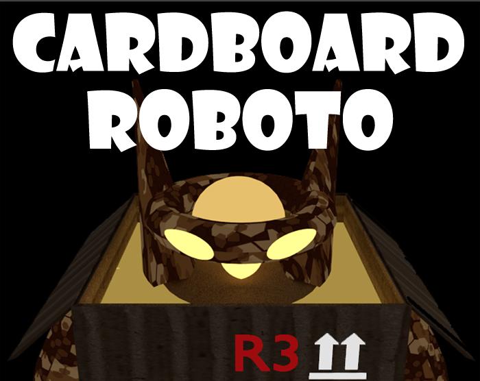 Cardboard Roboto