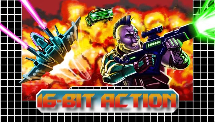 16-bit Action Music Pack
