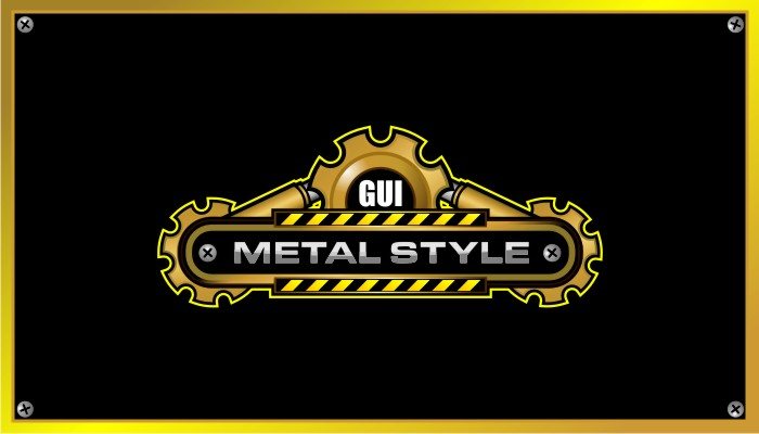 Game User Interface – METAL STYLE