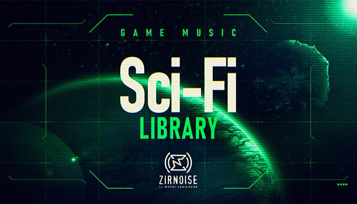Sci Fi/Cyberpunk Music Library
