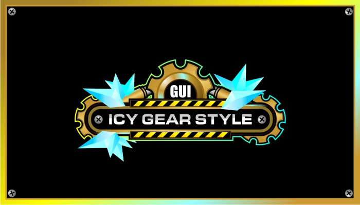 Game User Interface – ICY GEAR STYLE