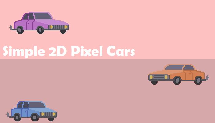 Simple 2D Cars