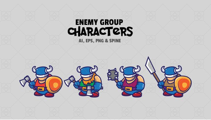 Enemy Characters V1