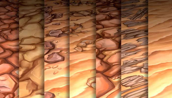 Stylized Sand Vol 40 – Hand Painted Textures