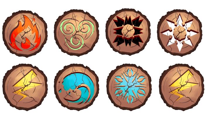 icons elements