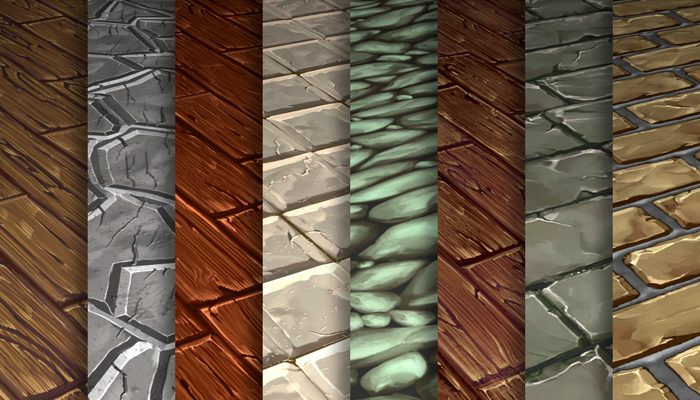 Stylized Ground Vol 46 – Hand Painted Textures