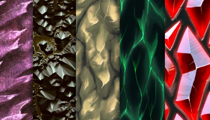 Stylized Walls Vol 50 – Hand Painted Textures