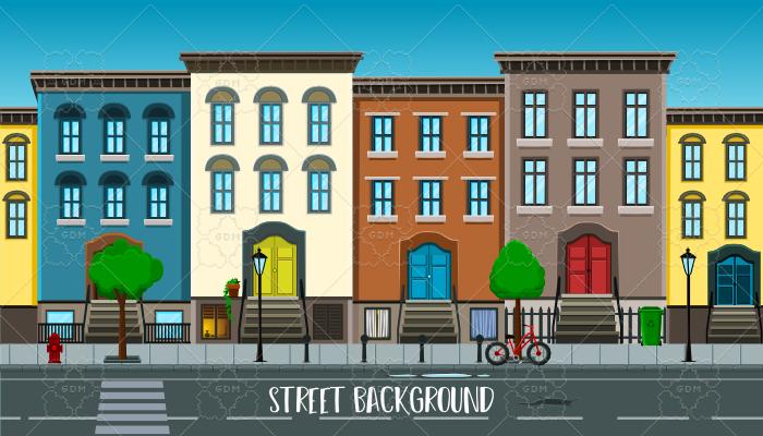Street background