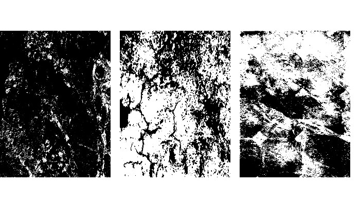 3 ABSTRACT TEXTURE BACKGROUNDS FOR SMARTPHONES – BLACK AND WHITE – VARIOUS DIMENSIONS (SEE DESCRIPTION)