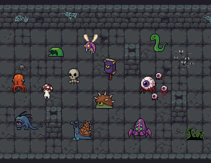 Pixel Monsters Vol.1