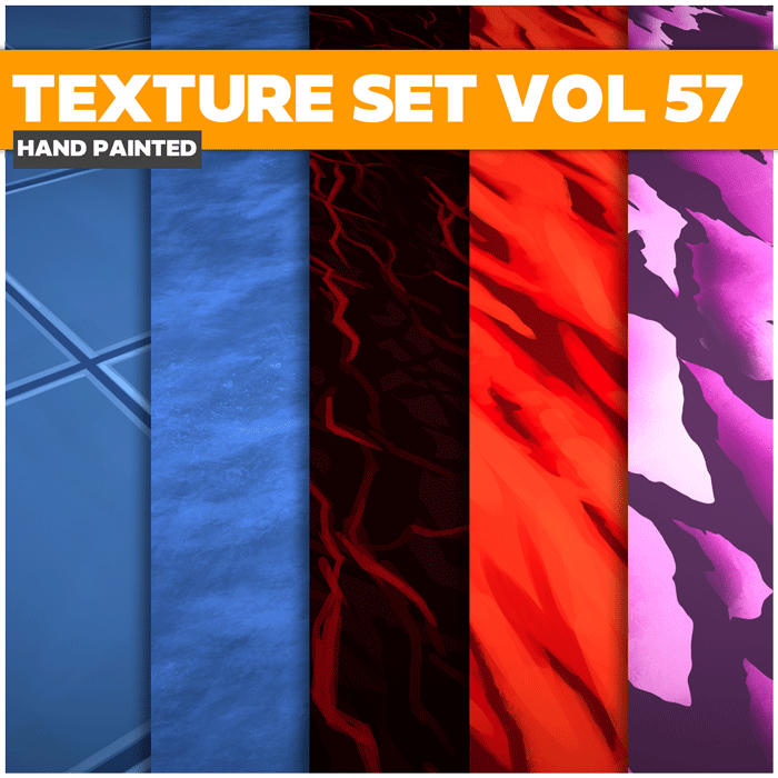 Stylized Surface Vol 57 – Hand Painted Textures