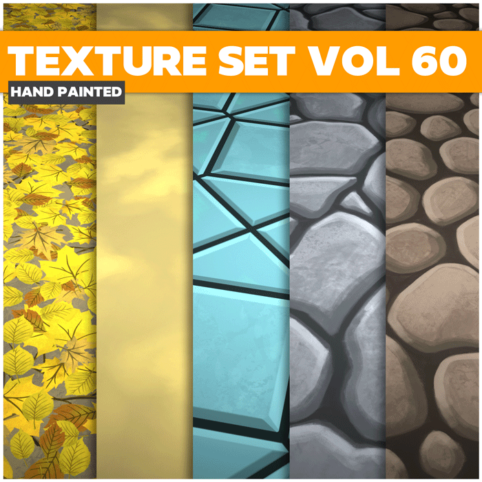 Stylized Mix Vol 60 – Hand Painted Textures
