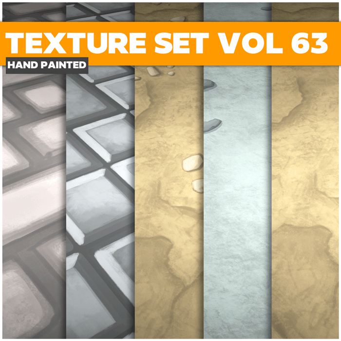 Stylized Fllor Vol 63 – Hand Painted Textures