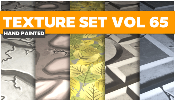 Stylized Mix Vol 65 – Hand Painted Textures