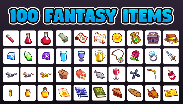 100 Fantasy Items