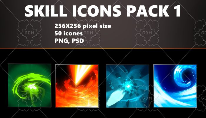 SKILL ICONS PACK 1
