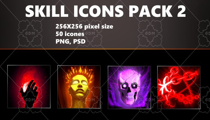 SKILL ICONS PACK 2