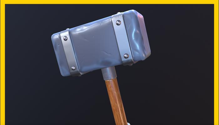 Stylized Hammer