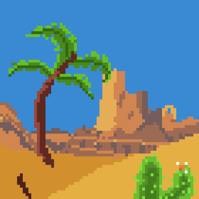 Parallax 2D Pixel Backgrounds(+Bonus)