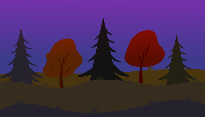 Forest and dark forest