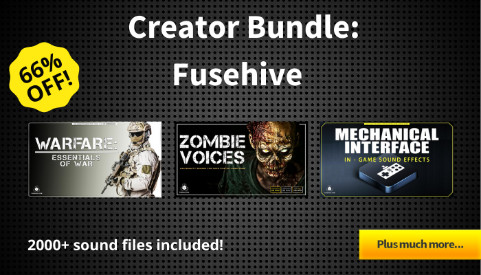 Audio Creator Bundle – Fusehive