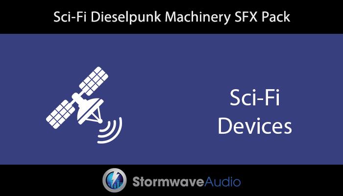 Sci-Fi Dieselpunk Machinery SFX Pack
