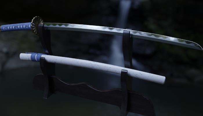 Japanese Sword PBR
