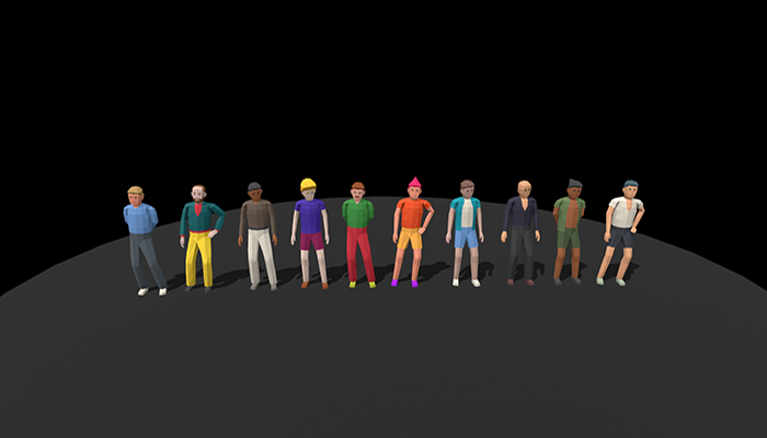 LowPoly Character Pack