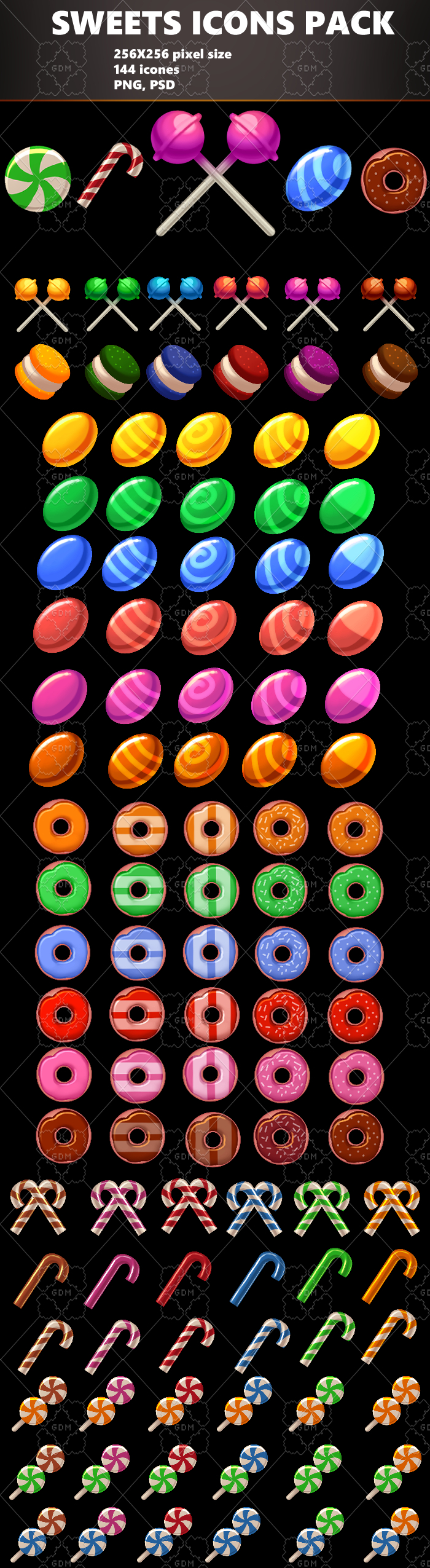 SWEETS ICONS PACK