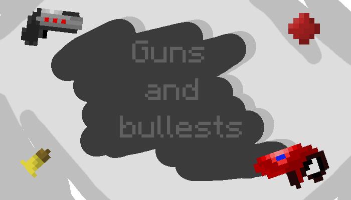 Guns and bullets 16×16