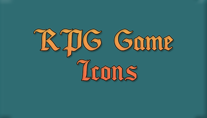 Rpg Game Icons Pack