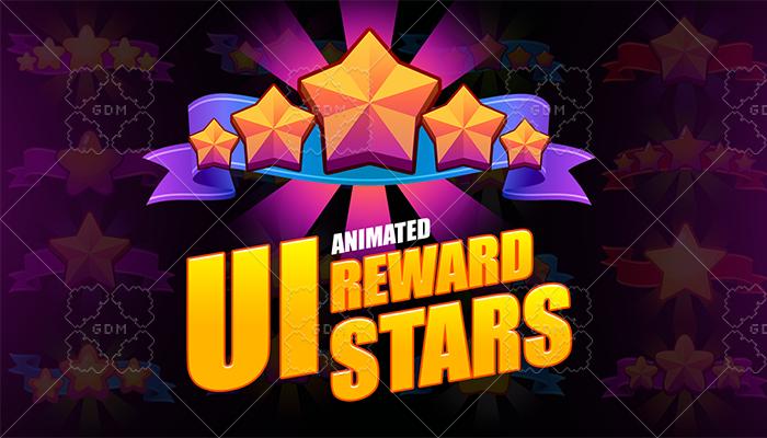 UI reward stars