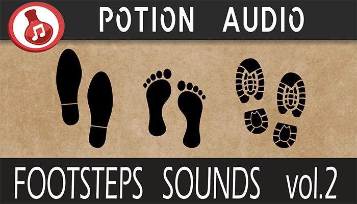 Footsteps Sounds Volume 2