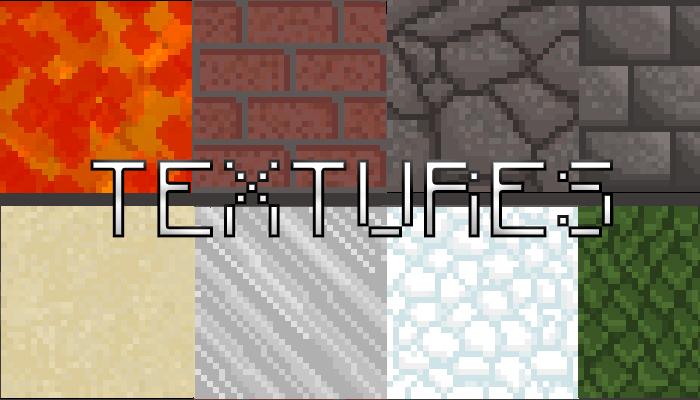 Textures 32×32 pxls