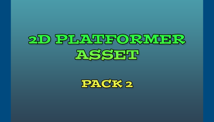 2D Platformer Asset Pack 2