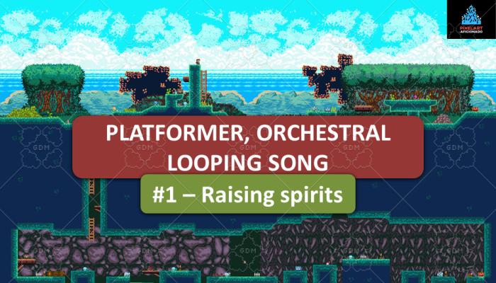 Platformer Orchestral Song #1 – Raising spirits