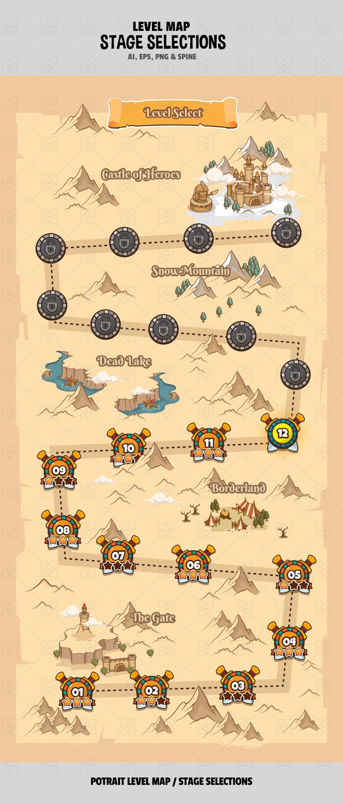 Level Map V4