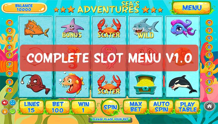 Complete Slot Menu