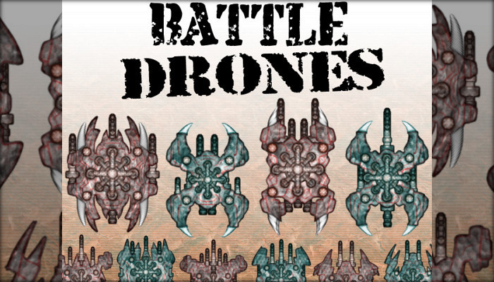 Battle Drones [Powerful Top-Down Air Units]