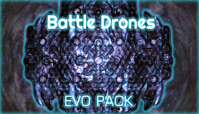 Battle Drones Evo BattleShip Pack [50+ Items]