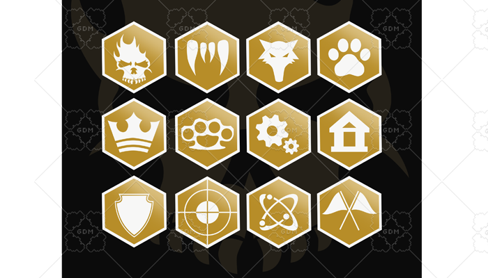 Action Set Icons