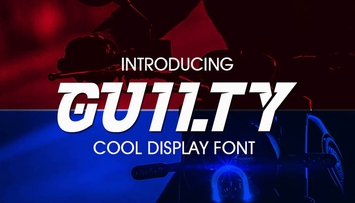 Guilty – Cool Display Fonts