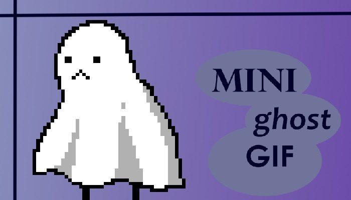 SAD Ghost \ GIF \ ANIMATION \