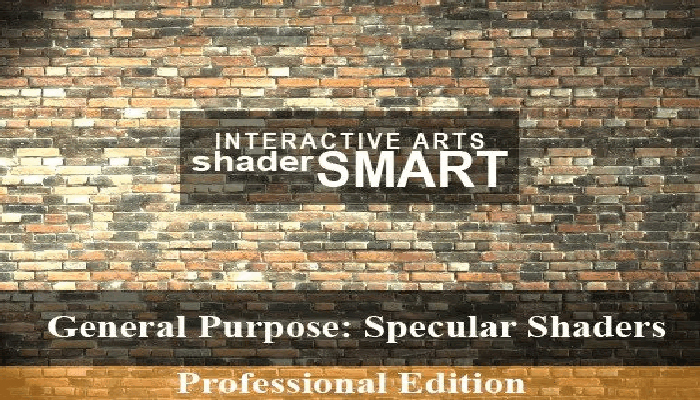 Shader Smart General Specular, Professional Edition