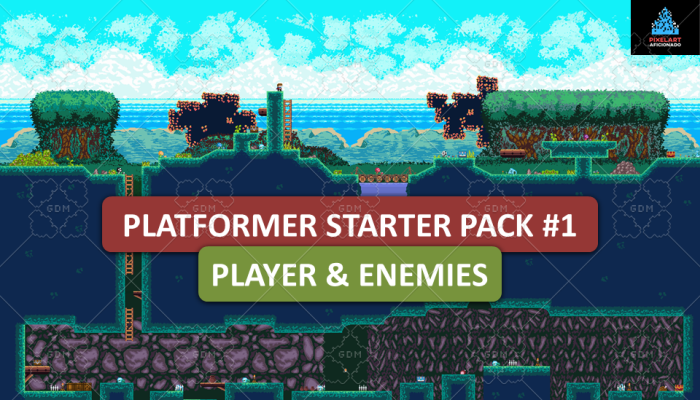 Platformer Starter Pack #1 Player & Enemies