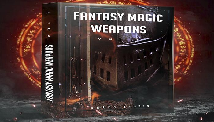 Fantasy Magic Weapons Vol 1