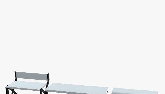 Minimalistic Sci-Fi Tables