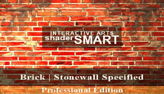 Brick, Stonewall Specified Shader Smart, Professional Edition